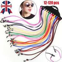 Adjustable Neck Cord Glasses Straps Spectacle Holder & Sunglasses String Lanyard
