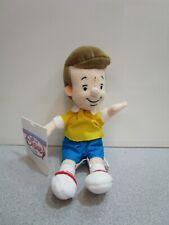 """Disney Store Winnie the Pooh Christopher Robin Beanie 8"""" Bean Bag Plush w/ Tags"""