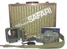 ZENZA BRONICA SQ-A Classic Film Camera KIt Safari Limited Edition. Case Included