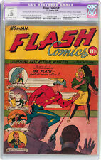 Flash Comics #1 CGC 0.5 DC 1940 1st  Flash & Hawkman! Golden Age Grail! E9 cm