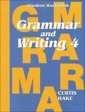 Saxon Grammar & Writing Grade 4 Student Workbook 4th Homeschool Curriculum