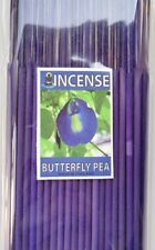 """Incense Sticks 8"""" Butterfly Pea Scent Aroma 1 Pack (100 g) Made in Thailand"""