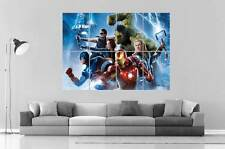 THE AVENGERS SUPER HEROS THE AGE OF ULTRON  Art Poster Grand format A0