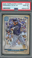 Fernando Tatis Jr 2020 Topps Gypsy Queen Baseball Card #104 PSA 10 GEM MINT