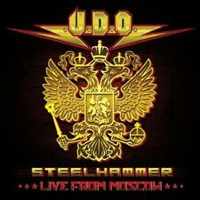 Steelhammer Live From Moscow - 3 DISC SET - U.D.O. (2014, CD NEUF) 884860101677