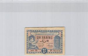 Chambre de Commerce de Constantine 1 Franc 12.10.1918 Série 35 n° 02072