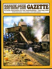 Narrow Gauge and Short Line Gazette Magazine July / August 2006 Vol 32 No 3