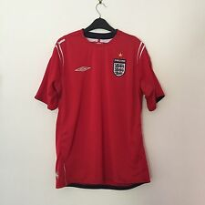England 2004-2006 Umbro Red Football Shirt Large Short Sleeve World Cup Official