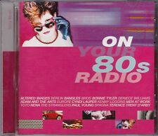 ON YOUR 80s RADIO - VARIOUS ARTISTS - CD -  NEW -