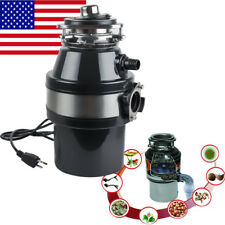 2600RPM Electric Kitchen Waste Disposer Home Food Garbage Sink Disposal Crusher