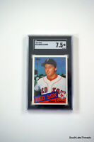 1985 Topps Roger Clemens Rookie Card #181 Boston Red Sox SGC 7.5 NM+