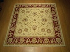 7 x 7 High Quality Handmade Afghan Ziegler Rug _Natural Dyed Hand Spun Fine Wool