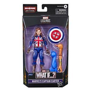Marvel Legends Captain Carter What If Action Figure