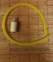 McCulloch Timber Bear 605 610 650 690 EB 3.7 Straight Gas Fuel Line With Filter