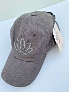 BL- Awesome Cap With Ponytail Holder NEW Gray