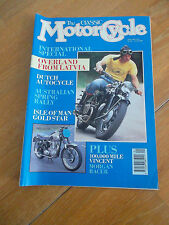 THE CLASSIC MOTORCYCLE JAN 1991 DUTCH AUTOCYCLE ISLE OF MAN GOLDSTAR VINCENT