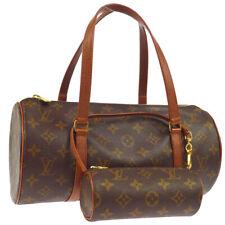 LOUIS VUITTON PAPILLON 30 HAND BAG POUCH MONOGRAM CANVAS M51365 NO0953 S09319