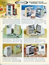 Vintage RIVAL Sales Catalog: HOME APPLIANCES
