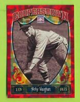 2013 Panini Cooperstown Red Crystal - Arky Vaughan (#37)  /399