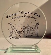 Chicago's Crystal Ball Dancesport Competition Award Acrylic Trophy