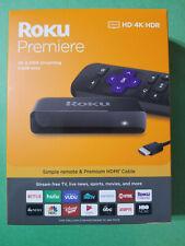 Roku Premiere 4K Digital Media Streamer - Black