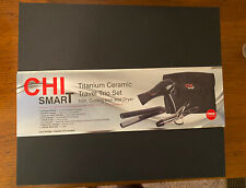Chi Smart Titanium Ceramic Travel Trio Set New In Box
