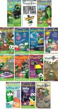Veggie Tales Big Idea Christian Lot of 14 VHS Video Tapes Larry Boy Silly Songs