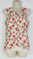 Rose & Olive Women's Floral Sleeveless Top Blouse sz M