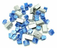 Monopoly Electronic Banking Houses & Hotels Replacement Game Parts Silver Blue