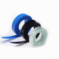7mm ~ 475mm Blue PVC Heat Shrink Tubing Tube Wrap RC Battery Pack Sleeves