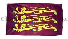 Riccardo Cuor di leone Bandiera 5ft x 3ft CROCIATA UFFICIALE alta qualità