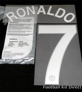 Official Manchester United Ronaldo 7 2008  Champions League Football Name Set