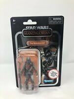 "Star Wars Vintage Collection Carbonized Mandalorian 3.75"" Figure *SHIPS NOW*"