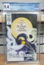 Nightmare Before Christmas Zero's Journey #1 Cover B Variant Comic Book CGC 9.4