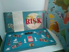1st Edition Rare 1959 RISK CONTINENTAL Game Parker Brothers Wooden WOOD Vintage
