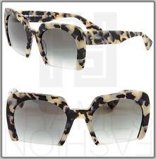 13c7a55c93a5 Original MIU MIU Mu 06qs Kad 1e0 Brown Frame Grey Lens Square 53mm  Sunglasses
