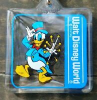 Original 1980's WALT DISNEY WORLD Donald Duck KEY-CHAIN Never Used