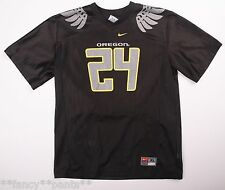 *RARE* Youth Boys NIKE OREGON DUCKS Black #24 THOMAS TYNER Football Jersey SZ XL