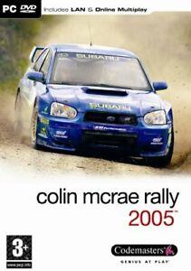 Colin McRae Rally 2005 (PC DVD) [video game]