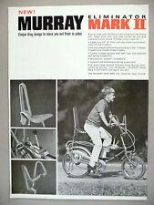 Murray Eliminator Mark II Bicycle PRINT AD - 1969 ~ bicycles
