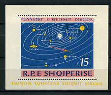 Albania 1964 SG#MS872a Solar System Planets Space MNH M/S #A61426