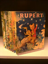 Rupert The Bear Annuals (Complete Years 1970 - 1979!) - 10 Books Collection!