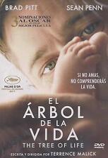 DVD El Arbol De La Vida (The Tree Of Life) NEW Brad Pitt Sean Penn FAST SHIPPING
