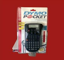 DYMO Pocket Handheld Electronic Label Maker 9mm & 12mm Tape New and Sealed