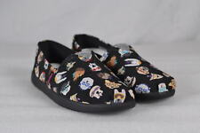 Youth Girl's Skechers Solestice-Puppy Smarts Slip Ons  Black/Multi