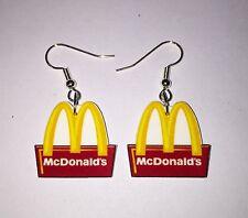 McDonald Earrings Logo Charms