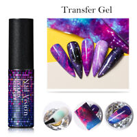 NAIL VISION Nail Top Coat & Base Coat Gel Polish Soak Off Matte Gel UV/LED 5ML