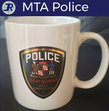 🚔Maryland State Transit Administration Police MTA Coffee Mug Law Enforcement