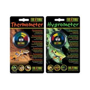 Exo Terra Analogue Guage Hygrometer and Thermometer for Reptiles