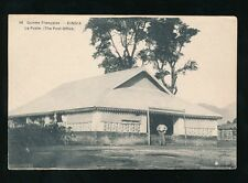 FRENCH GUINEA KINDIA POST OFFICE PPC c1920